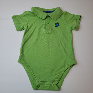 Jumping Beans Boys Polo Onesie Size 6-9 Months